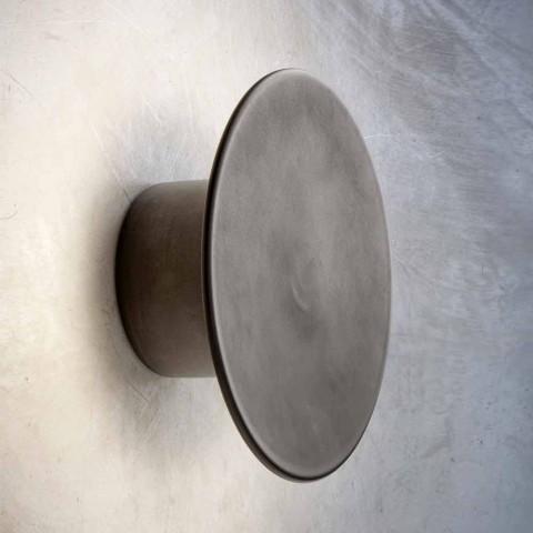 Wall Lamp for Modern Exterior in Copper Made in Italy - Pasdedeux Aldo Bernardi