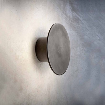 Wall Lamp for Modern Exterior in Copper Made in Italy - Pasdedeux Aldo Bernardi