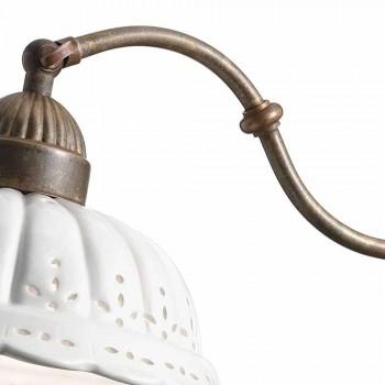 Applique art nouveau in Bassano Anita ceramic Il Fanale