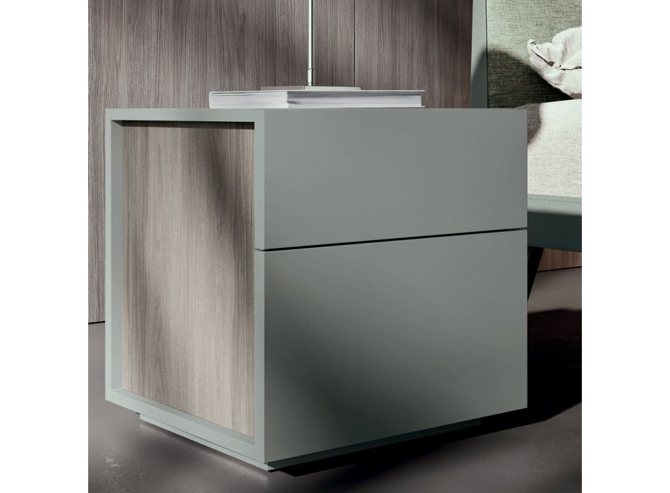 Luxury Made in Italy 5-Element Bedroom Furniture - Cristina