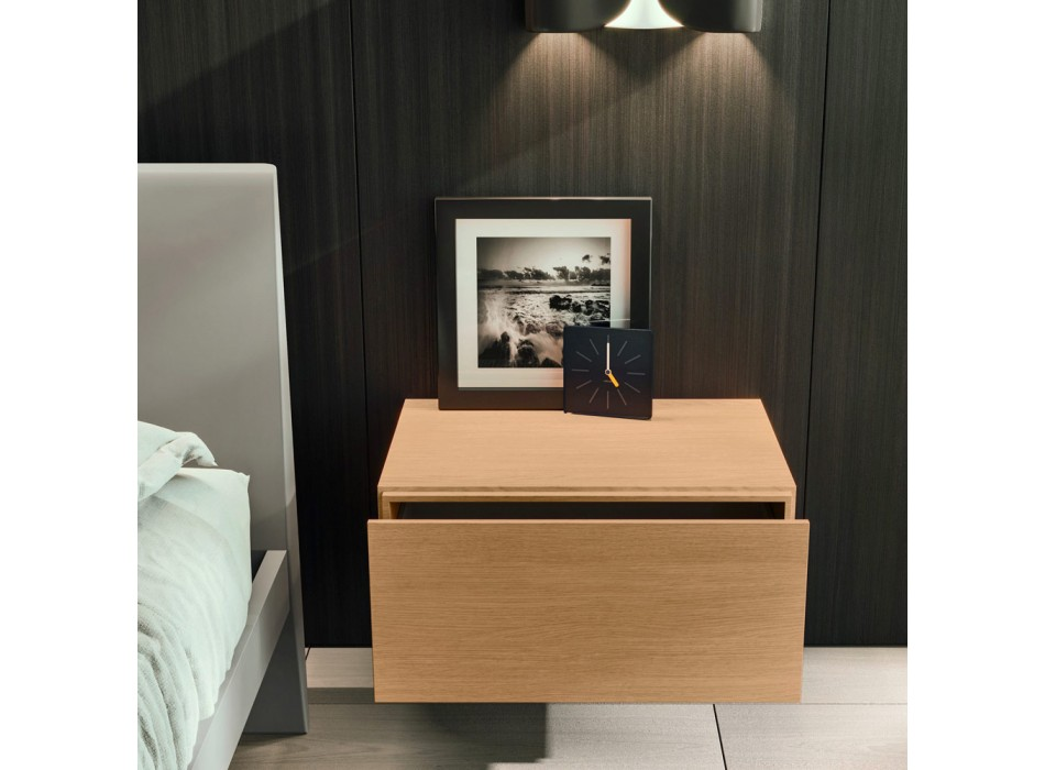 Modern Style 5-Element Bedroom Furniture Made in Italy - Diamond