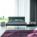 Bedroom with 7 Elements Modern Style Furniture Made in Italy - Polynesia