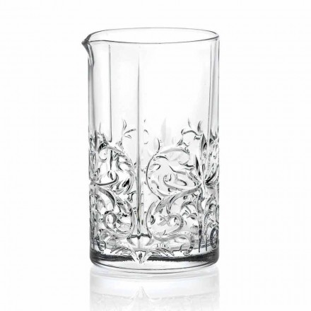 Mixing Glass with Eccentric Decoration Luxury Design 4 Pieces - Destino