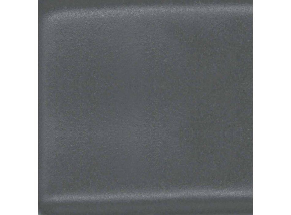 Floor Bidet in White or Colored Trabia Glazed Ceramic