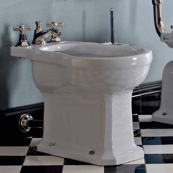 Vintage White or Black Ceramic Floor Bidet Made in Italy - Marwa