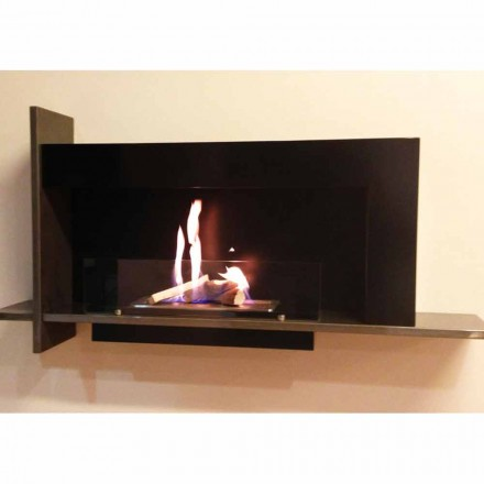 Wall mounted bio ethanol fireplace Baudelaire