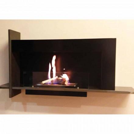 Wall mounted bio ethanol fireplace Baudelaire