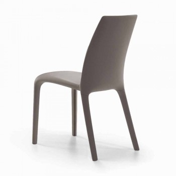 Bonaldo Alanda upholstered living design chair made in Italy leather