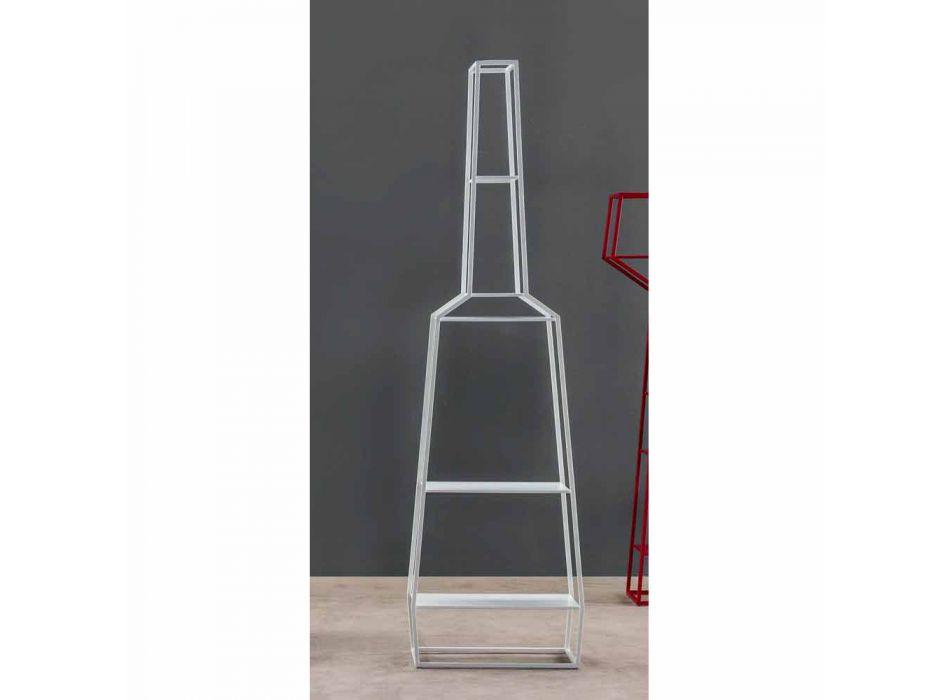 Bonaldo April 210x60cm colored metal design bookcase made in Italy