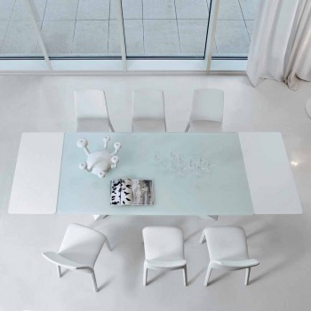 Bonaldo Big Table extending table made of crystal made in Italy