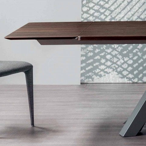 Bonaldo Big Table extensible table made of Italy design wood