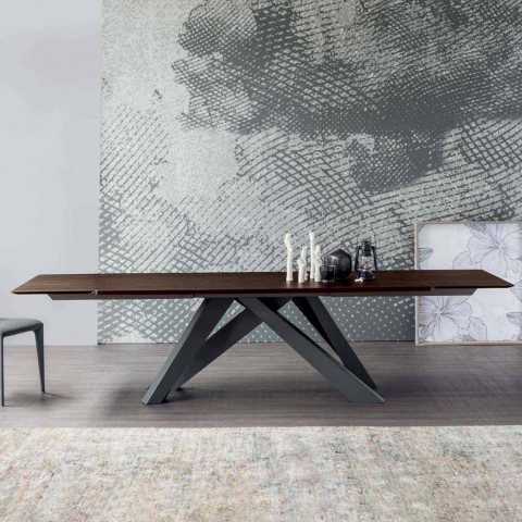 Table Italy Wooden With Bonaldo In Extending Big TopMade Fcl1TKJ