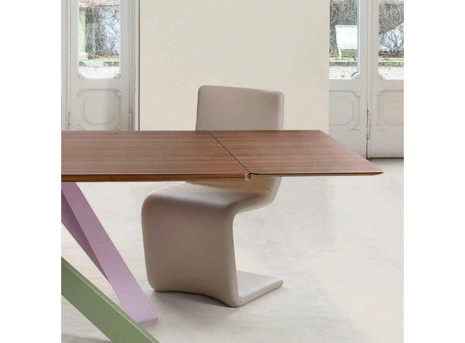 Bonaldo Big Table extensible wood veneer table made in Italy