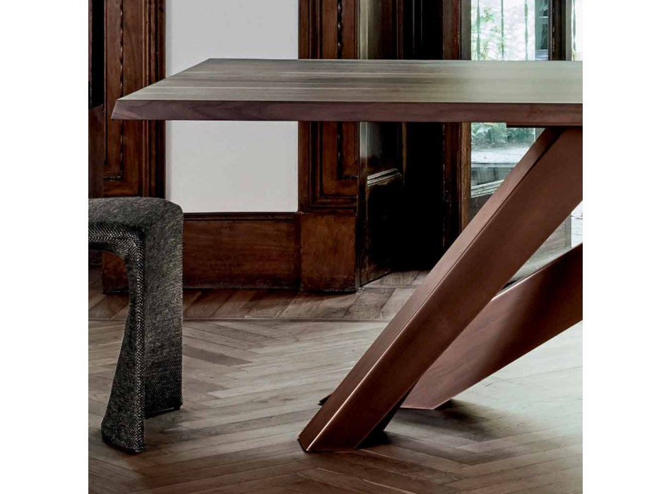 Bonaldo Big Table solid wood table made in Italy design