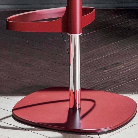 Bonaldo Bonnie swivel adjustable steel stool made in Italy Bonnie