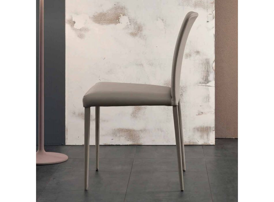 Bonaldo Deli design chair with upholstered seat made in Italy