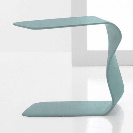 Bonaldo Duffy side table 48x60 cm, lacquered polyurethane made in Italy