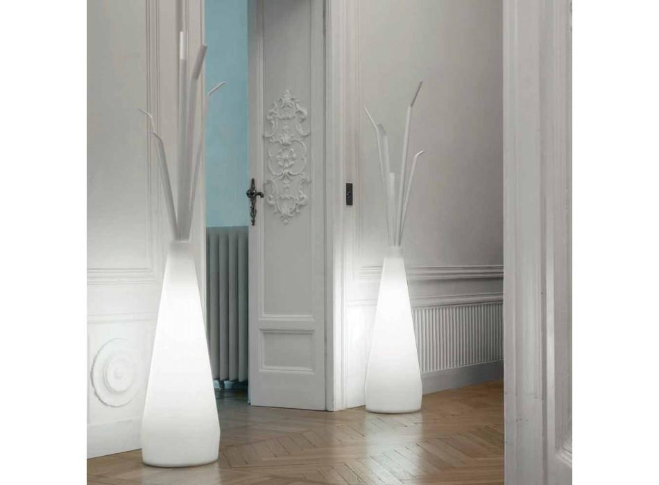 Bonaldo Kadou coat rack with polyethylene design light made in Italy