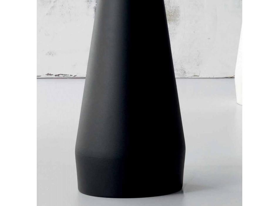Bonaldo Kadou polyethylene and steel design coat hanger made in Italy