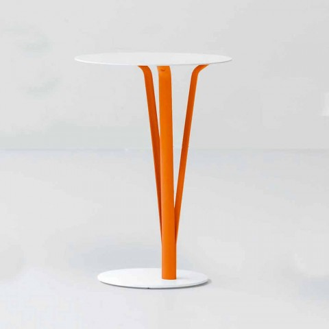 Bonaldo Kadou design table in painted steel D39cm made in Italy