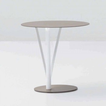 Bonaldo Kadou design table painted steel D50cm made in Italy