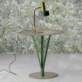 Bonaldo Kadou painted steel side table Ø 50 cm, made in Italy
