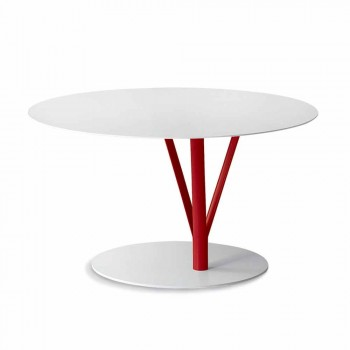 Bonaldo Kadou design table painted steel D70cm made in Italy
