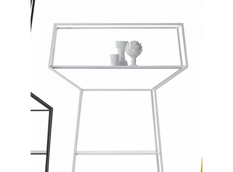 Bonaldo May colorful design metal bookcase H171xL91cm made in Italy