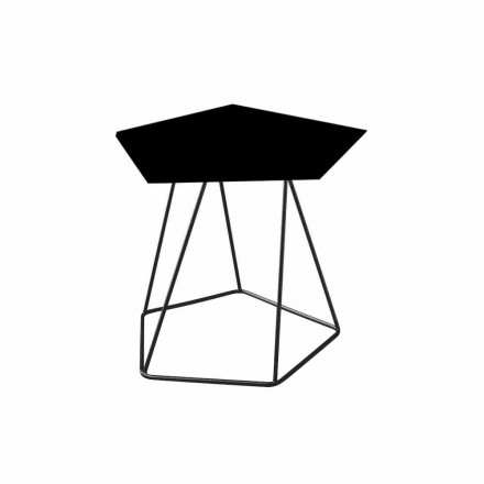 Bonaldo Tectonic small table in painted steel, made in Italy