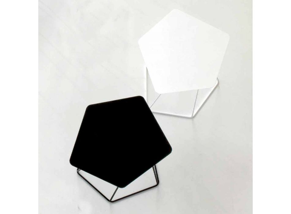 Bonaldo Tectonic design coffee table painted steel made in Italy