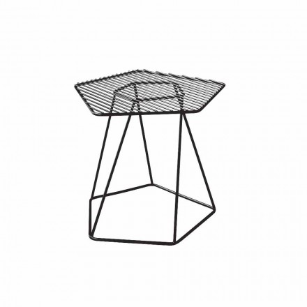 Bonaldo Tectonic side table in painted steel, made in Italy