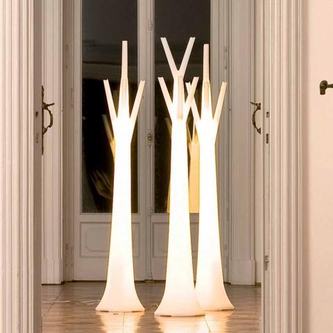 Bonaldo Tree hanger with light made of polyethylene made in Italy