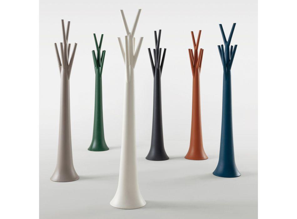 Bonaldo Tree indoor / outdoor coat hanger made of polyethylene made in Italy
