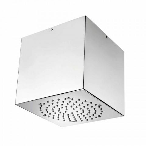 Bossini Cube shower head coated steel to a modern jet
