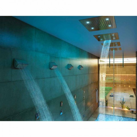 Bossini Dream shower head with chromotherapy and four functions