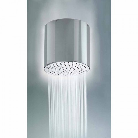 Bossini Oki 200 shower head with a modern design in a jet