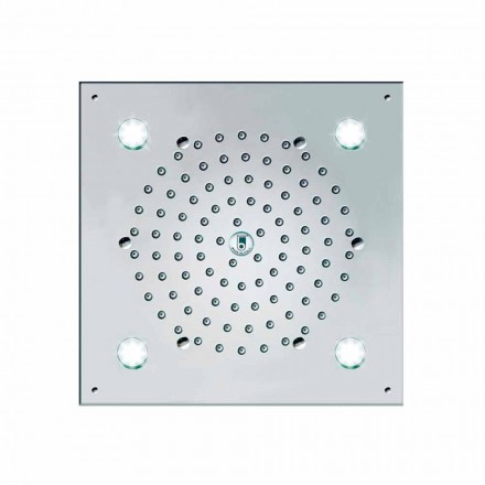 Bossini shower head with 4 LED lights Cube-Light