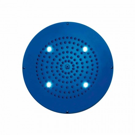 Round shower head Dream by Bossini with chromotherapy, modern design