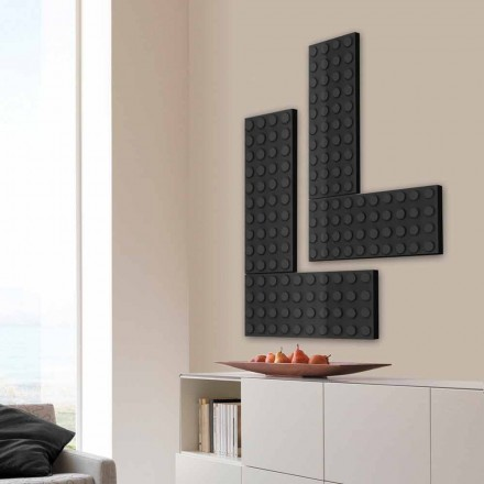 Stylish hot water radiator Brick made in Italy by Scirocco H