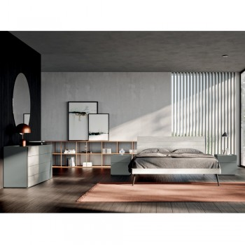 Complete Room with 4 Modern Design Elements Made in Italy - Mallorca