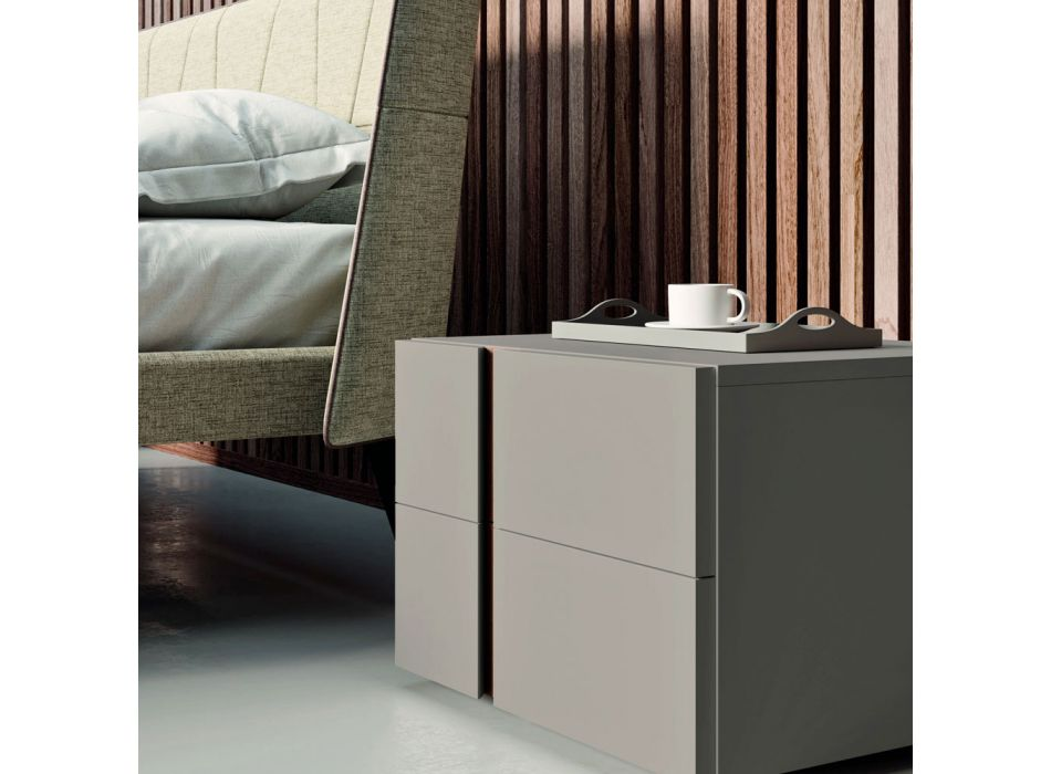 Bedroom with 4 Elements Modern Style Made in Italy High Quality - Minorco