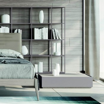 Bedroom with 5 Modern Elements Made in Italy High Quality - Rieti