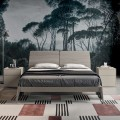 Complete Bedroom with 4 High Quality Made in Italy Elements - Odema