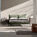 Complete Bedroom with 4 Modern Elements Made in Italy - Shaila
