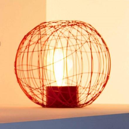 Tabletop / freestanding bioethanol fireplace made of steel Henry