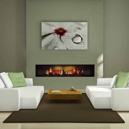 Electric Fireplace Insert High definiton Screen Edimburgh Double
