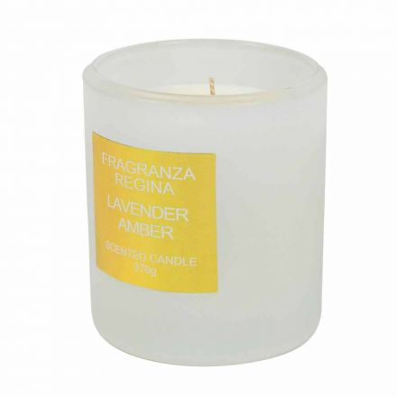 Colored Scented Candles for Christmas Red, Yellow or White 3 Pieces - Borghetto