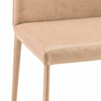 Carly modern design dining room chair made in Italy