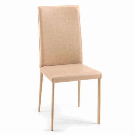 Carly, special dining room chair, modern design, made in Italy