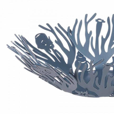 Centerpiece Design with Corals in Precious Iron Handmade in Italy - Maste